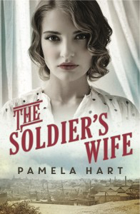 Writer Pamela Hart Book Cover - The Soldier's Wife