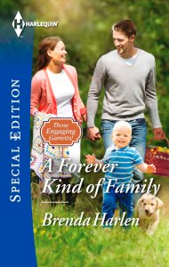 Book Cover - A Forever Kind of Family by Brenda Harlen