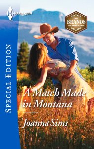 Book Cover - A Match Made in Montana by Joanna Sims