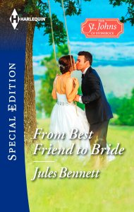 Book Cover - From Best Friend to Bride by Jules Bennett