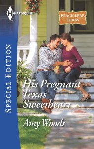 Book Cover - His Pregnant Texas Sweetheart by Amy Woods
