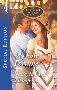 Book Cover - My Fair Fortune by Nancy Robards Thompson