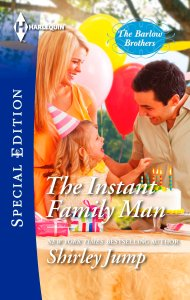 Book Cover - The Instant Family Man by Shirley Jump