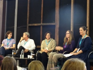 YA with Erin Gough, Barry Jonsberg, Melina Marchetta, Laurie Halse Anderson & Davina Bell at SWF 2015