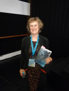 Robyn Cadwallader with The Anchoress at SWF 2015 Thurs