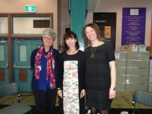 SWF 2015 Thurs - Kate Grenville, Aviva Tuffield & Emily Bitto