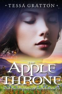 Writer Tessa Gratton Book Cover - The Apple Throne