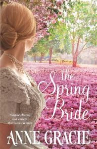 Writer Anne Gracie Book Cover - The Spring Bride (Australian version)