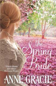 Writer Anne Gracie Book Cover - The Spring Bride (Australian version)