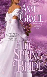 Writer Anne Gracie Book Cover - The Spring Bride
