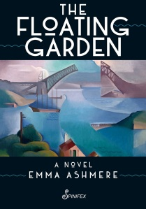 Writer Emma Ashmere Book Cover - The Floating Garden