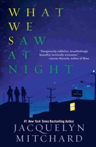 Writer Jacquelyn Mitchard Book Cover - What We Saw at Night