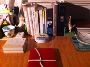 Yvette Walker's writing desk