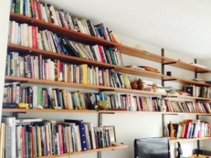 Eleanor's bookshelves