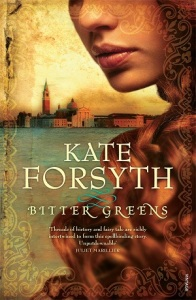 Writer Kate Forsyth Book Cover - Bitter Greens