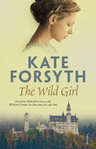 Writer Kate Forsyth Book Cover - The Wild Girl