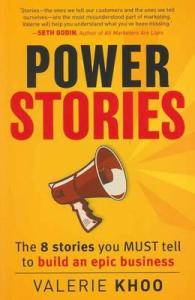 Writer Valerie Khoo Book Cover - Power Stories