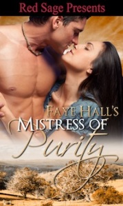 Writer Faye Hall Book Cover - Mistress of Purity