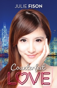 Writer Julie Fison Book Cover - Counterfeit Love