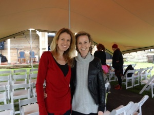 Nicole Melanson - writer, poet and editor of WordMothers with writer and blogger Cassie Hamer from Book Birdy