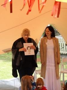 Susanne Gervay launching Anna Pignataro's Being Agatha