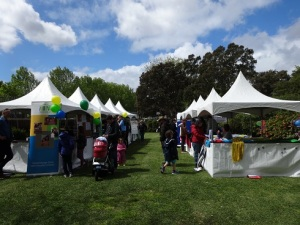 The Stalls enjoying a rare visit from the sun at Writers in the Park 2015 - edited by Nicole Melanson