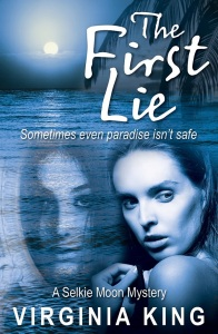 Writer Virginia King Book Cover - The First Lie