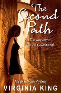 Writer Virginia King Book Cover - The Second Path