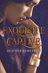 Writer Heather Demetrios Book Cover - Exquisite Captive