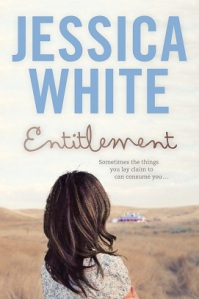 Writer Jessica White Book Cover - Entitlement
