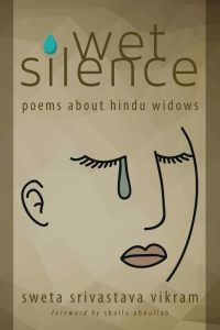 Writer Sweta Vikram Book Cover - Wet Silence