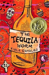 Writer Viola Canales Book Cover - The Tequila Worm