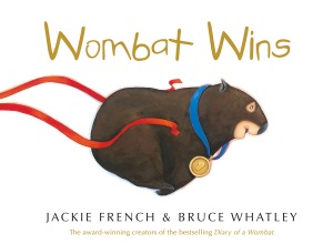 Writer Jackie French Book Cover - Wombat Wins