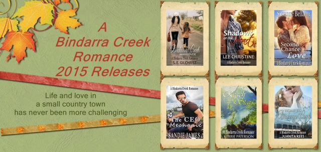 Bindarra Creek Romance Releases 2015