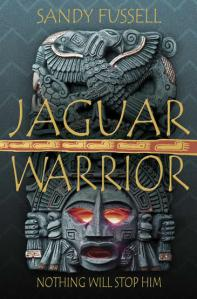 Writer Sandy Fussell Book Cover - Jaguar Warrior