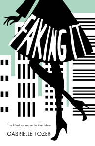 Writer Gabrielle Tozer Book Cover - Faking It