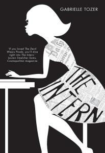 Writer Gabrielle Tozer Book Cover - The Intern