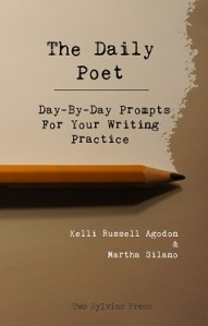 Writer Kelli Russell Agodon Book Cover - The Daily Poet with Martha Silano