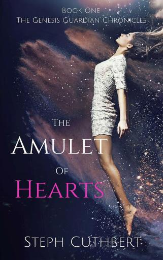 Writer Steph Cuthbert Book Cover - The Amulet of Hearts