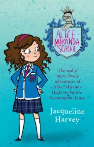 Writer Jacqueline Harvey Book Cover - Alice-Miranda at School