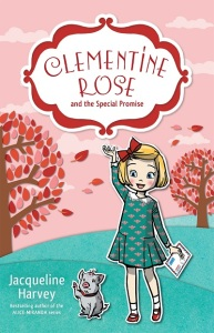 Writer Jacqueline Harvey Book Cover - Clementine Rose and the Special Promise