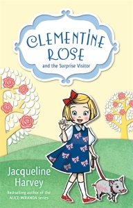 Writer Jacqueline Harvey Book Cover - Clementine Rose and the Surprise Visitor