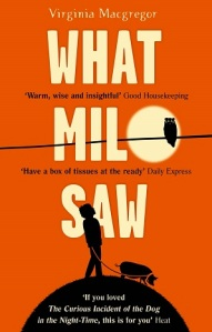 Writer Virginia Macgregor Book Cover - What Milo Saw