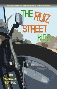 Writer Diane Gonzales Bertrand Book Cover - The Ruiz Street Kids