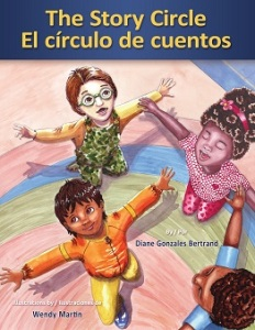 Writer Diane Gonzales Bertrand Book Cover - The Story Circle