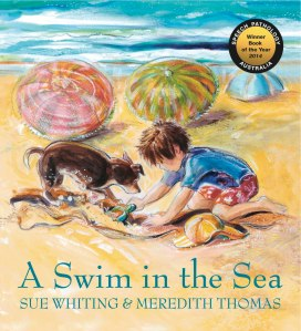 Writer Sue Whiting Book Cover - A Swim in the Sea