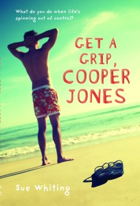Writer Sue Whiting Book Cover - Get a Grip, Cooper Jones