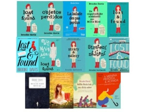 Writer Brooke Davis Book Covers - Lost and Found