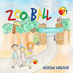 Writer Aleesah Darlison Book Cover - Zoo Ball