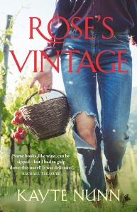 Writer Kayte Nunn Book Cover - Rose's Vintage